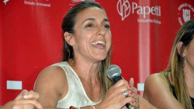 Manuela Moreno, candidata a vicepresidenta de Huracán: 'La mujer rinde examen todo el tiempo'