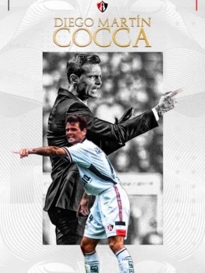 Diego Cocca, nuevo entrenador de Atlas de México