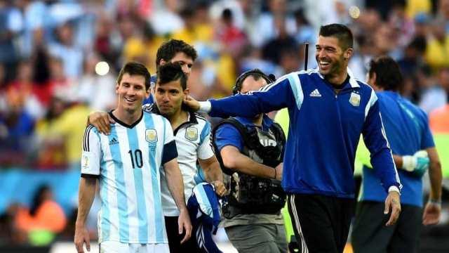 Andújar: 'A Messi acá le brindarían sólo respeto'