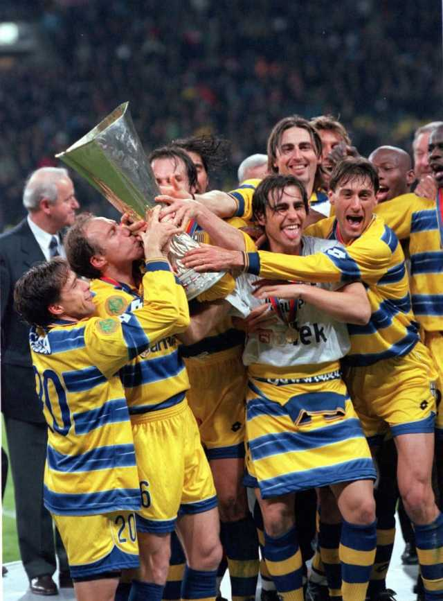 Los futbolistas argentinos campeones de la Europa League