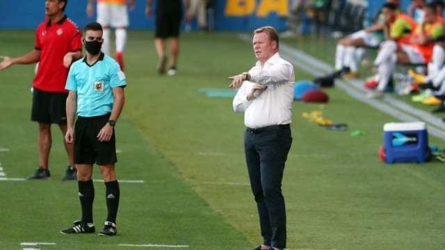 Ronald Koeman habló del estado físico y del ánimo de Messi tras el primer amistoso