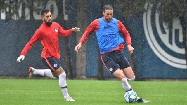 San Lorenzo tuvo práctica de fútbol tras la postergación del juego con Argentinos