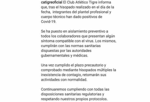 Se suspendió el amistoso entre Boca y Tigre por varios casos de coronavirus