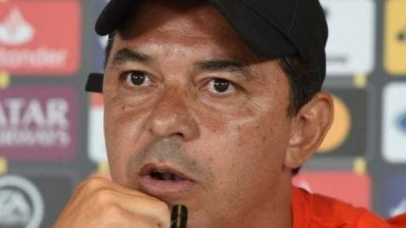 A Gallardo le preguntaron por otro River-Boca copero y la tiró afuera: 'Toque quien te toque va a ser complicado'