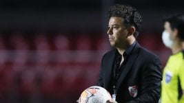 River defined the list of concentrates to seek classification against Athletico Paranaense