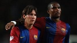 Eto'o chose Messi's heir in Barcelona