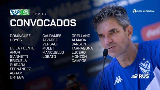 Copa Argentina: Centurión no concentra en Vélez para jugar con Camioneros