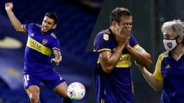 Boca: Two changes in the same play and a lot of concern for Salvio