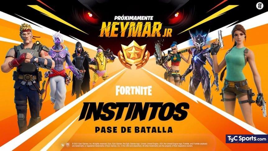 Fortnite: Neymar Jr esta más cerca de llegar esta temporada 6