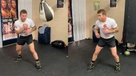 La exigente preparación de Canelo para pelear con Saunders