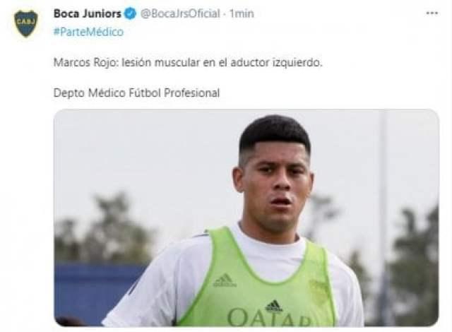 Marcos Rojo lesión