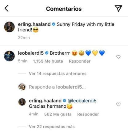 Balerdi and Haaland