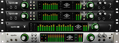 Universal Audio Apollo Rack available from Kazbar Systems