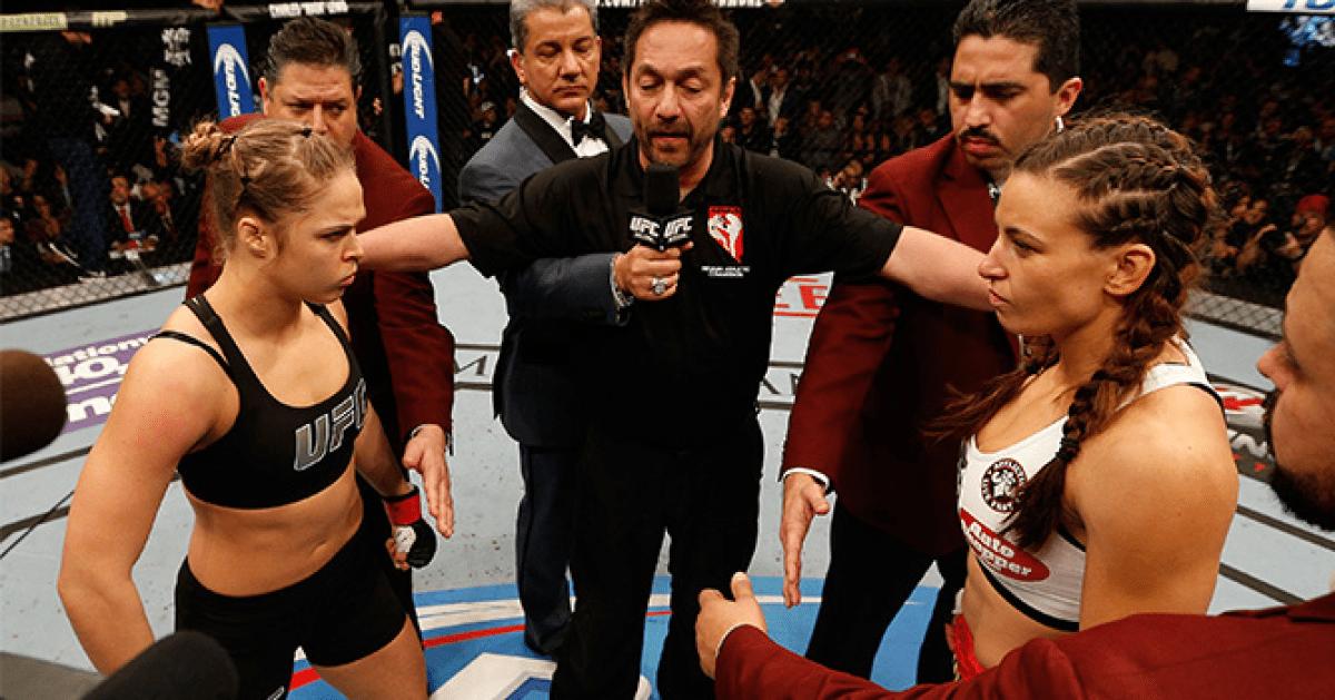 Fighters Take Miesha Tate On Rousey Vs Zingano UFC