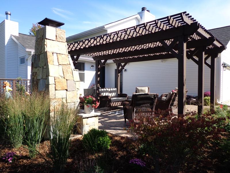 Landscape renovation installed