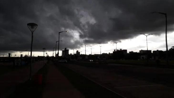Meteorología anuncia tormentas para cinco departamentos.