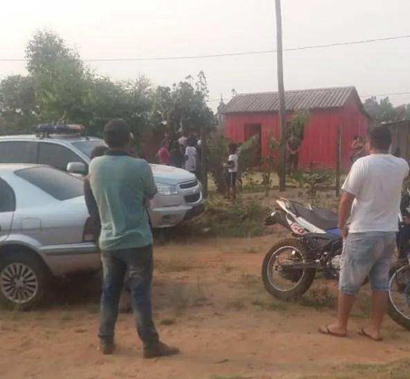 El crimen se registró en la tarde de este jueves en la ciudad de Capitán Bado.
