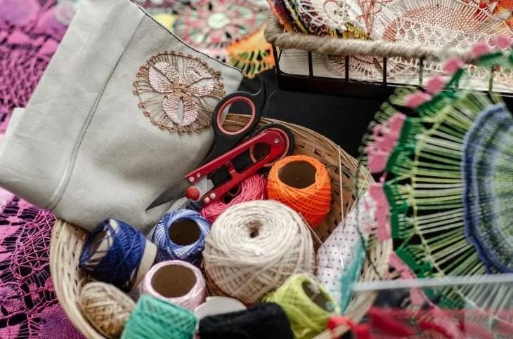 <p>Algunas de las artesan&iacute;as paraguayas.</p>