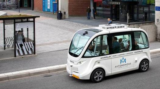 självkörande buss