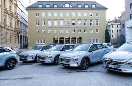 #Südtirol: Nachhaltig unterwegs: Neue #Wasserstoff #Flotte übergeben