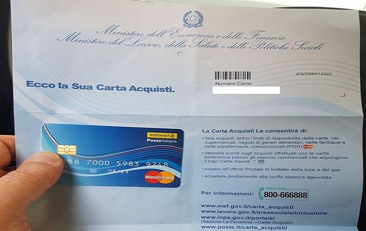 Carta Acquisti 2018 Requisiti Isee Come Richiederla E