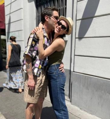 Tommaso Zorzi e Aurora Ramazzotti di nuovo amici: lui le presenta Tommaso Stanzani