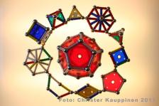 geometriska former ljusbord geomag