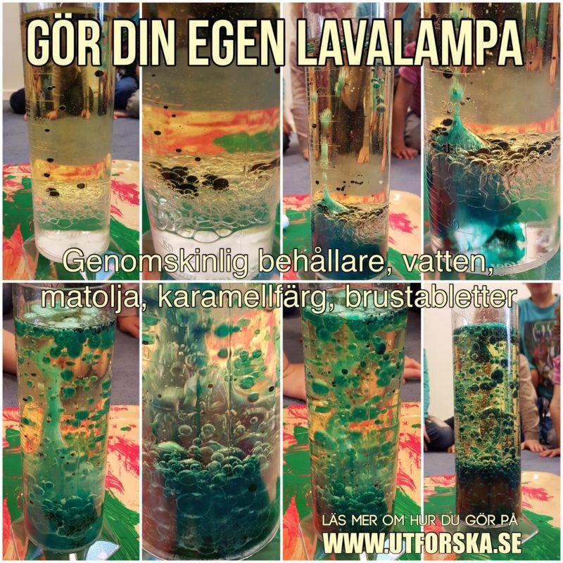 Gör din egen lavalampa enkelt och snabbt