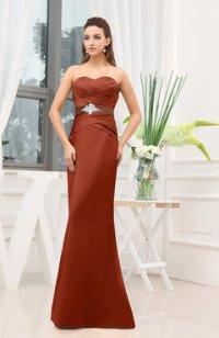 Rust Color Special Occasion Dresses - UWDress.com
