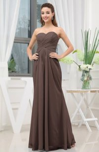 Chocolate Brown Bridesmaid Dresses - UWDress.com