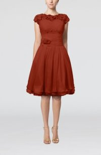 Rust Color Bridesmaid Dresses - UWDress.com
