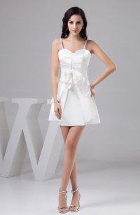 White Inexpensive Bridesmaid Dress Unique Sexy Summer Semi ...
