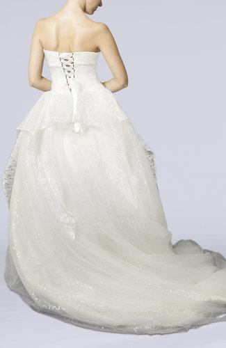 Cinderella Church Ball Gown Sweetheart Chapel Train Paillette Bridal Gowns  UWDresscom