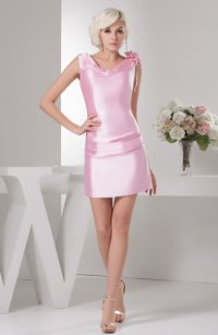Carnation Pink Casual Sweet 16 Dress Inexpensive Allure ...