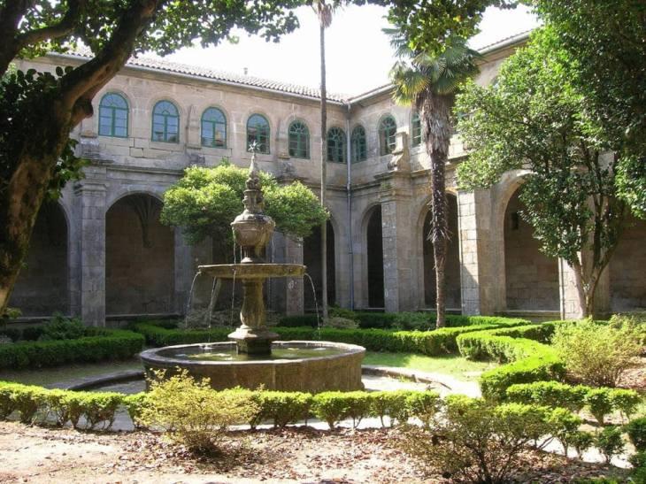 Hospedería del Monasterio de Poio