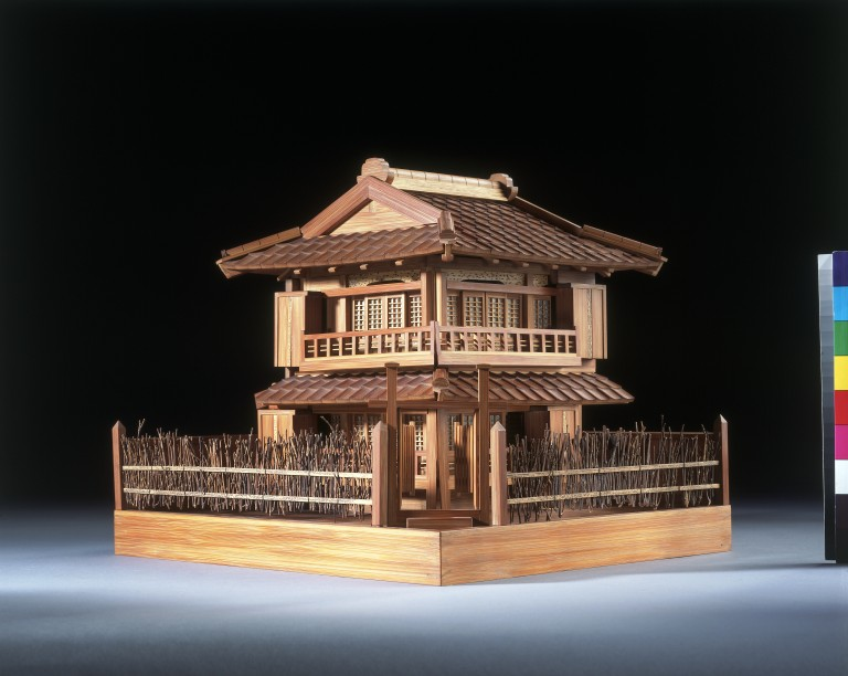 Model of a japanese house  VA Search the Collections