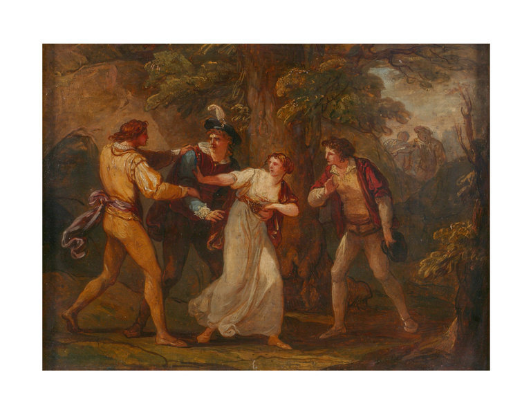 Two Gentlemen of Verona - Angelica Kauffman