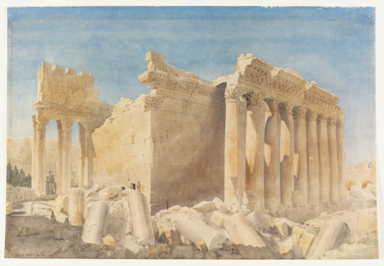 Temple of Bacchus Baalbek  Spiers Richard Phen FRIBA FSA  VA Search the Collections