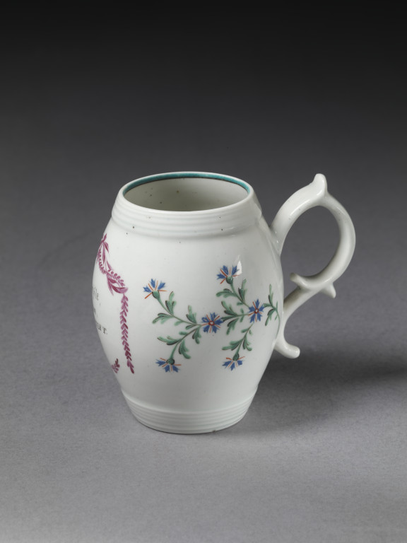 Mug  Lowestoft porcelain factory  VA Search the Collections