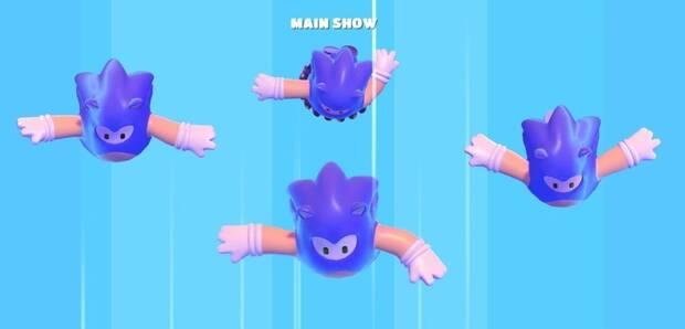 Fall Guys: Ultimate Knockout recibirá un disfraz de Sonic mañana Imagen 2