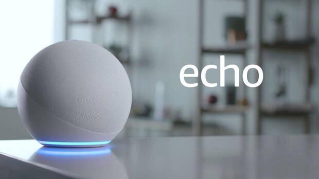 Echo, uno de los dispositivos de Amazon Alexa.
