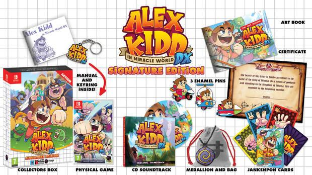 Signature Edition de Alex Kidd in Miracle World DX