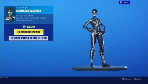Fortnite - Skins: Montaraz Calavera