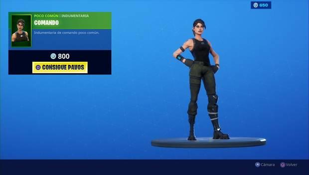 Fortnite - Skins: Comando