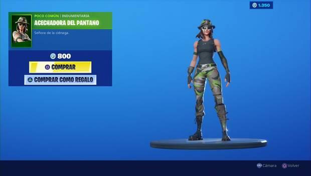 Fortnite - Personajes: Acechadora del pantano
