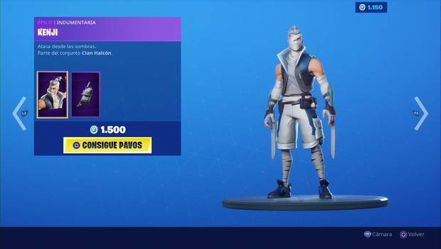 Fortnite - Skins: Kenji