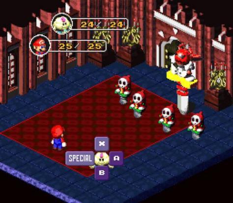 Super Mario RPG 1996
