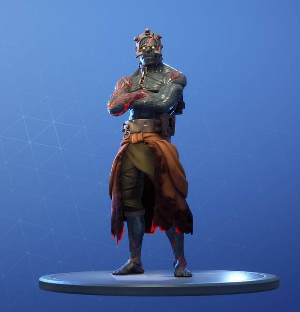 Fortnite As se consigue la segunda fase de la Skin