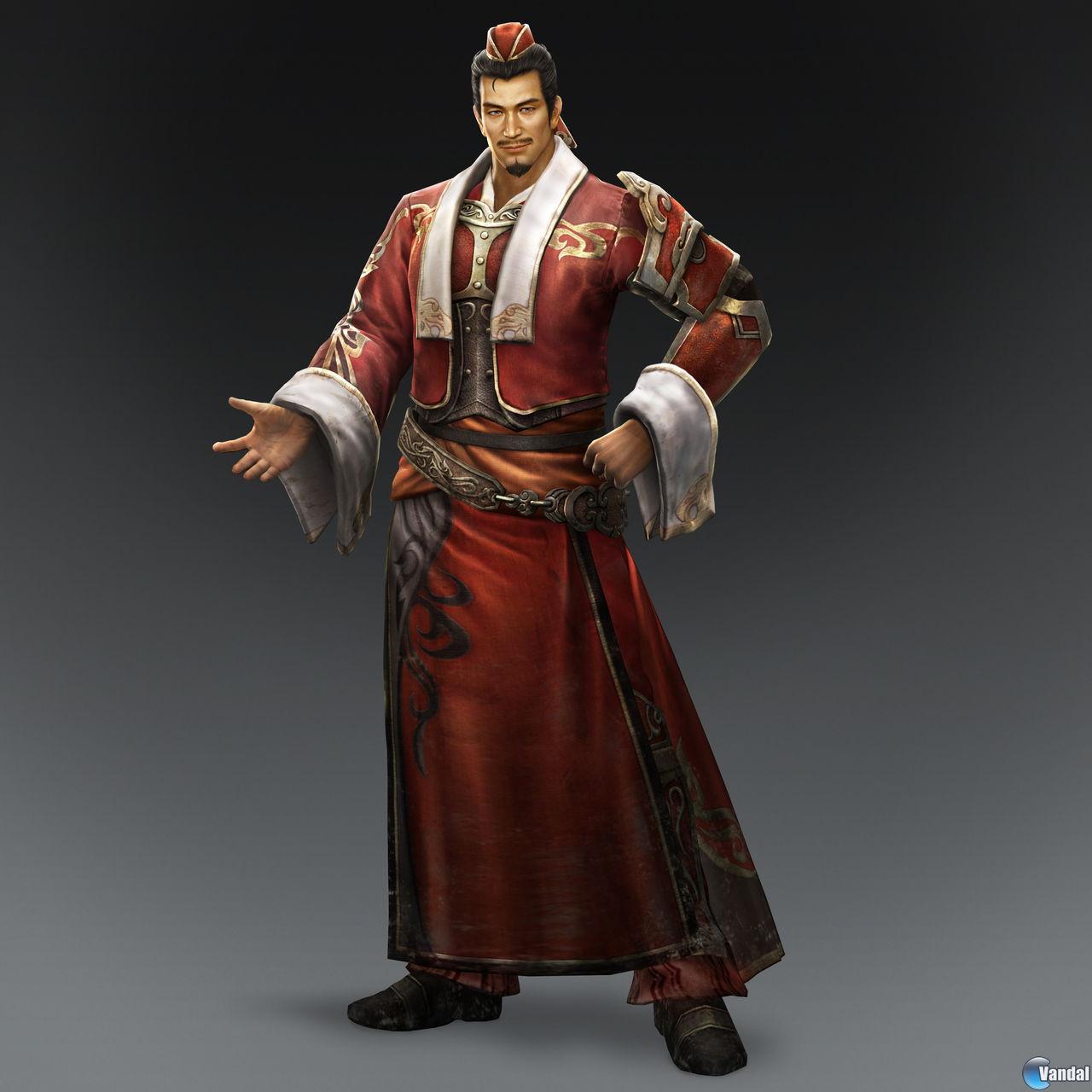 Personajes De Dynasty Warriors 8