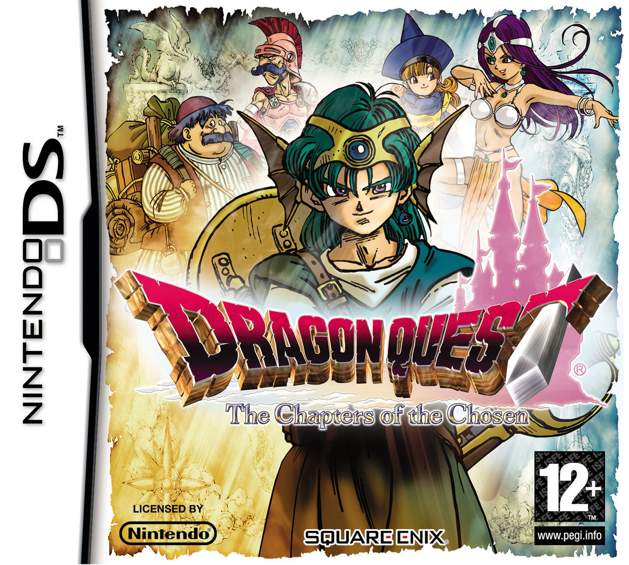 Dragon Quest 6 Ds Fliegender Teppich Dragon Quest The Chapters Of The Chosen Toda La